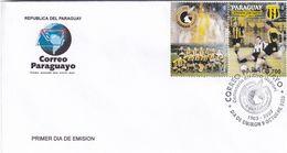 Paraguay 2003 Cover; Football Fussball Soccer Calcio; 100 Years Of Club Guarani - Football