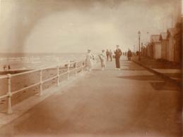LUC SUR MER 1923 PHOTO ORIGINALE  10.50 X 8 CM - Orte