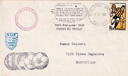 Uruguay 1980 Cover; Football Fussball Soccer Calcio; Olymic Games 1924 Paris Uruguay Champion News Atletico Penarol Rare - Football