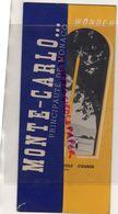 06- MONACO-MONTE CARLO-OPERA- RAOUL GUNSBOURG-BALLET RENE BLUM-LEONIDE MASSINE -HOTEL PARIS-GOLF-RARE DEPLIANT ANNEES 50 - Toeristische Brochures