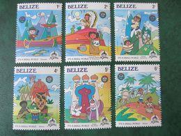 BELIZE 1985, MI 829-834 MNH (1B) - Belize (1973-...)