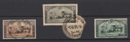 Belgique: 1935. COB : 407/09 Oblitéré(s).  Cote 2020 : 6 € - Used Stamps
