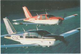 2 Avions Patrouille De TRINIDAD SOCATA  Gros Plan 1er Salon Européen D'aérophilatélie 11 Avril 1987 - 1946-....: Era Moderna