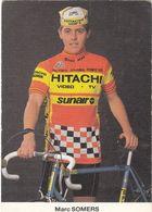 CYCLISME  MARC SOMERS - HITACHI SUNAIR - Ciclismo