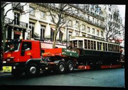 Photo  - Transport Exceptionnel METROPOLITAIN - Centenaire Du Métro - Année 2000 PARIS - Trains