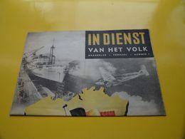 IN DIENST Van Het VOLK Maandblad Februari Nummer 1 ( Zie / See / Voir SCANS ) ! - Unclassified