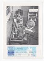 DF / POSTE / PROTOTYPE DE LA PREMIÈRE MACHINE À TRIER LES LETTRES EN FRANCE (1953) - Poste & Facteurs