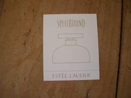 Carte Lauder Spellbound Suisse - Cartes Parfumées