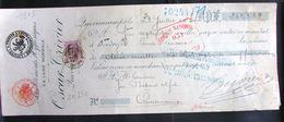 LetDoc. 499. Mandat. 2 Fr Violet Grosse Barbe N°80 Bruxelles Effets De Commerce 1907 - 1905 Thick Beard