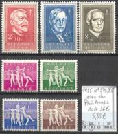 D - [844929]TB//*/Mh-c:36e-Belgique 1955 - N° 979/85, Joies Du Printemps - Unused Stamps