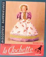 Nantes (44 Loire Atlantique) Buvard BISCOTTES CLOCHETTE N° 16: TOURAINE (M0333) - Biscottes