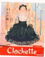 Nantes (44 Loire Atlantique) Buvard BISCOTTES CLOCHETTE N°53 ANGOULEME (M0336) - Biscottes