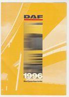 Brochure-leaflet: DAF Trucks Eindhoven Halfjaarbericht 1996 - Trucks