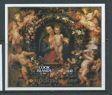 Cook Islands 1986 Christmas Rubens Paintings $6 Miniature Sheet MNH - Cook Islands