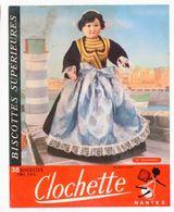 Nantes (44 Loire Atlantique) Buvard BISCOTTES CLOCHETTE N°30 DOUARDENEZ  (M0340) - Biscottes