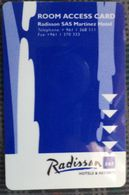 Radisson SAS - Hotelkarten