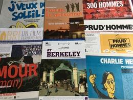 Documentaires : 24 Plaquettes & 5 Cartes (Squat-National Gallery-Casse-300 Hommes-12 Jours—À L'ombre De La République-Le - Merchandising