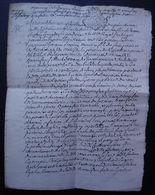 Tonneins 1758 (Lot-et-Garonne) Mariage De Jacques Larrieu Et Marthe Bonnefon - Manuscrits