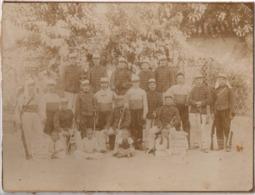 Tlemcen 1895 Train D équipage 10e Escadron 7e Compagnie - Gde Photo - Militaire Français Algérie Armée D Afrique Genie ? - Photos