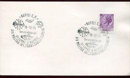 55943 Italia, Special Postmark 1974 Napoli, Showing The Volcano, Vulkan, Vesuvio, Geology - Vulkane