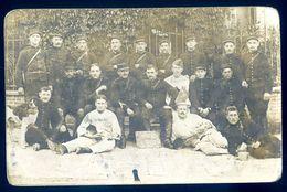 Cpa Carte Photo Souvenir De Nogent -- Photographe Beausseron à Mailly Le Camp       AVR20-172 - Cartoline