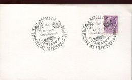 55944 Italia, Special Postmark 1973 Napoli, Showing The Volcano, Vulkan, Vesuvio, Geology - Vulkane