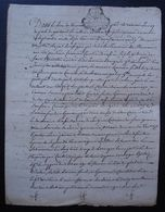 Casteljaloux 1759 (Lot-et-Garonne) Razimet, Mariage De François Coulié, Brassier Et Marie Larrieu - Manuscrits