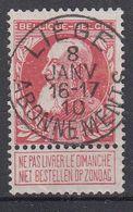 BELGIË - OPB - 1905 - Nr 74 - T1L (LIEGE / ABONNEMENTS) - COBA + 2.00 € - 1905 Thick Beard