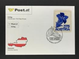 Österreich  FDC Michel Nr. 2773 Stickerei Marke 2008 - FDC