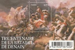 FRANCE 2012 BLOC OBLITERE TRICENTENAIRE DE LA BATAILLE DE DENAIN -  F4660 - F 4660 - Sheetlets