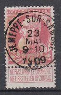 BELGIË - OPB - 1905 - Nr 74 - T1L (JEMEPPE- SUR-SAMBRE) - COBA + 4.00 € - 1905 Thick Beard