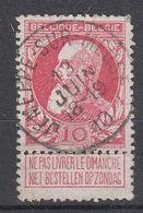 BELGIË - OPB - 1905 - Nr 74 - T1L (JEMEPPE- SUR-MEEUSE) - COBA + 2.00 € - 1905 Thick Beard