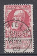 BELGIË - OPB - 1905 - Nr 74 - T1L (JUPILLE) - COBA + 2.00 € - 1905 Thick Beard