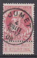 BELGIË - OPB - 1905 - Nr 74 - T1L (JUMET) - COBA + 2.00 € - 1905 Thick Beard