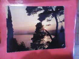 à Identifier - Coucher De Soleil En Méditerranée -  Format: 197mm Sur 150mm - Cartoline