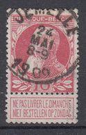 BELGIË - OPB - 1905 - Nr 74 - T1L (JEMELLE) - COBA + 4.00 € - 1905 Thick Beard