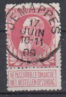 BELGIË - OPB - 1905 - Nr 74 - T1L (JEMAPPES) - COBA + 2.00 € - 1905 Thick Beard