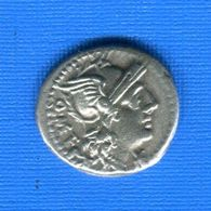Denier  Rome  Omf  République - Romaines