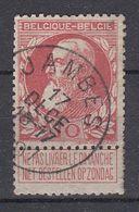 BELGIË - OPB - 1905 - Nr 74 - T1L (JAMBES) - COBA + 4.00 € - 1905 Thick Beard