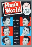 (culturisme) Revue MAN'S WORLD  July 1958  (PPP23383) - Sports