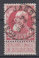 BELGIË - OPB - 1905 - Nr 74 - T1L (JABBEKE) - COBA + 8.00 € - 1905 Thick Beard