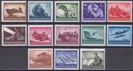 Wei_ Deutsches Reich 1944 - Mi.Nr. 873 - 885 - Postfrisch MNH - Allemagne