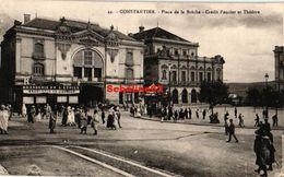 Constantine - Place De La Brèche - Crédit Foncier Et Théatre - Constantine
