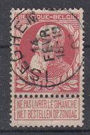BELGIË - OPB - 1905 - Nr 74 - T1L (ISEGHEM) - COBA + 2.00 € - 1905 Thick Beard