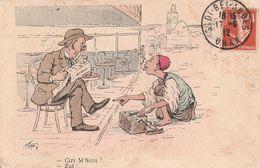 Carte Illustrateur  Chagny Militaire Humoristique - Humoristiques