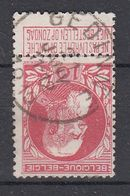BELGIË - OPB - 1905 - Nr 74 - T1L (GEDINNE) - COBA + 4.00 € - 1905 Thick Beard