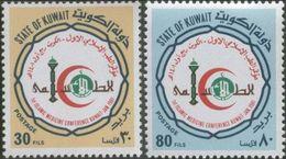 Koweit 1981 Nobel Red Cross Croix Rouge Croissant Rouge Red Crescent - Prix Nobel