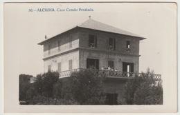 ESP - ALCUDIA - CASA CONDO PERALADA - Zonder Classificatie