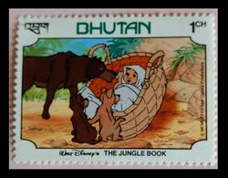 110. BHUTAN (1CH) 1982 STAMP THE JUNGLE BOOK. MNH - Bhoutan