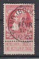 BELGIË - OPB - 1905 - Nr 74 - T1L (GAND(BOUCHERIE)) - COBA + 1.00 € - 1905 Thick Beard